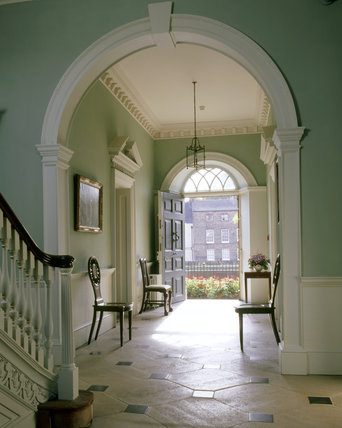 The Entrance Hall At Peckover House Looking From The