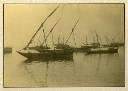 Sailing boats Tethered, India