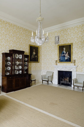 The Yellow Room at Mottisfont Abbey, Hampshire