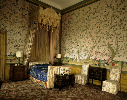 The Chinese Bedroom, habitually used by Edward VIII as Prince of Wales