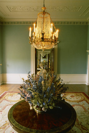 The Drawing Room at Castle Coole, after retoration