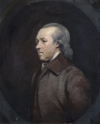 GEORGE ABRAHAM GIBBS (1718-1794), Exeter surgeon and father of Antony Gibbs, by Prince Hoare, 1790, at Tyntesfield