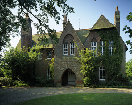 The North Facing Entrance Front Of Red House Built By