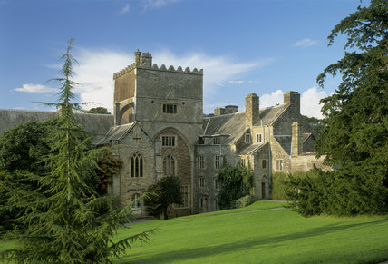 A view of the South Front of Buckland Abbey