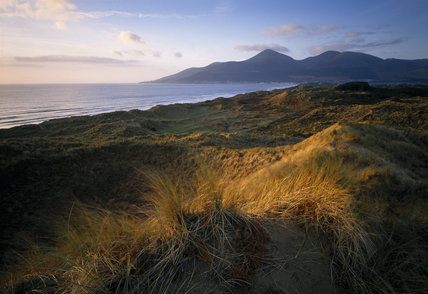 Murlough, with the Mourne mountains beyond In Search of Neptune, page 138