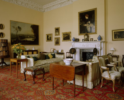 Drawing Room At Florence Court Florence Court At National