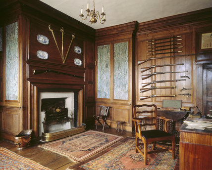 The Gun Room Of 17th Century Quot Planter Quot House Springhill