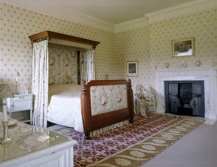 The Corner Bedroom At Berrington Hall Showing Victorian