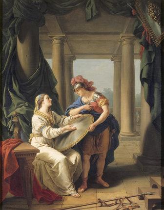 LA LACEDEMONIENNE by L.J.F. Lagrenee (1725-1805)