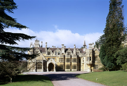 Medium view of the East Front of Tyntesfield
