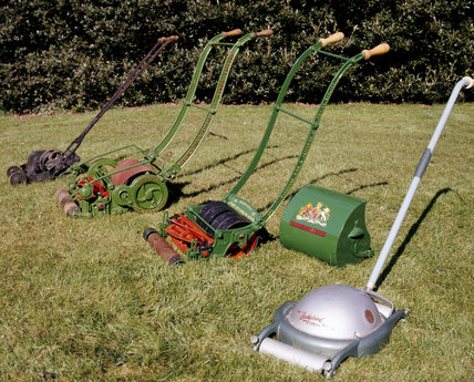 Part of the Lawn Mower Collection at Trerice