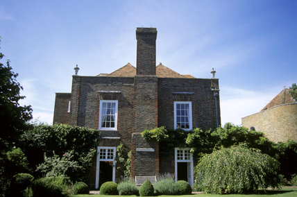 View of Lamb  House from the garden,  Rye