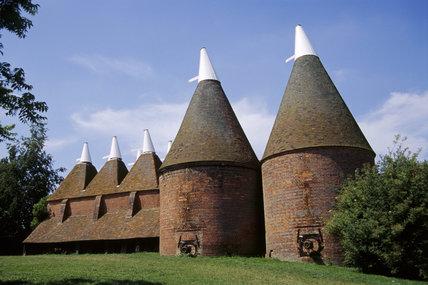 The Oast Houses at Sissinghurst in Kent