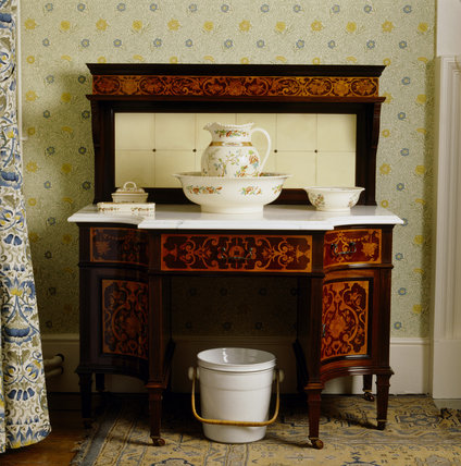 A Marble Washstand at Standen