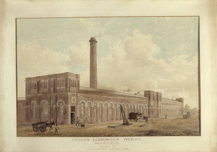 GREEN'S ECONOMISER WORKS, WAKEFIELD at Treasurer's House, York