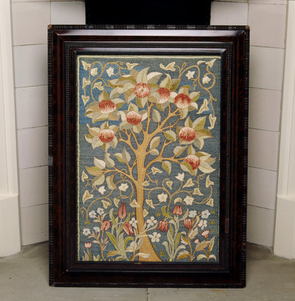 Embroidered Fire Screen In The North Bedroom Standen At
