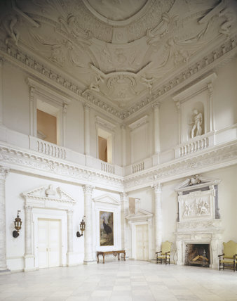 The Marble Hall Designed By Giacomo Leoni At Clandon Park