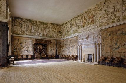 Room View Of The High Great Chamber At Hardwick Hall