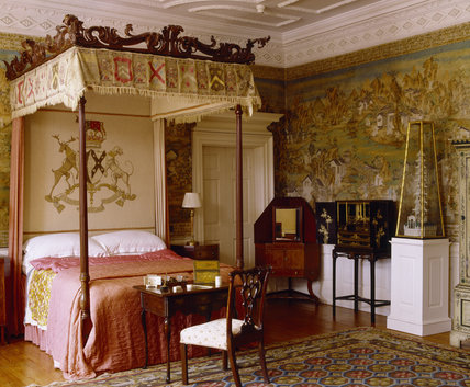 The Chinese Bedroom At Blickling Hall With The Bed C 1760