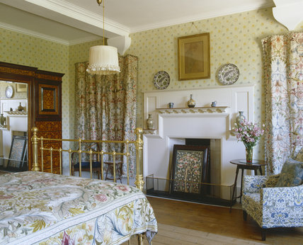 North Bedroom Looking Towards The Fireplace At Standen