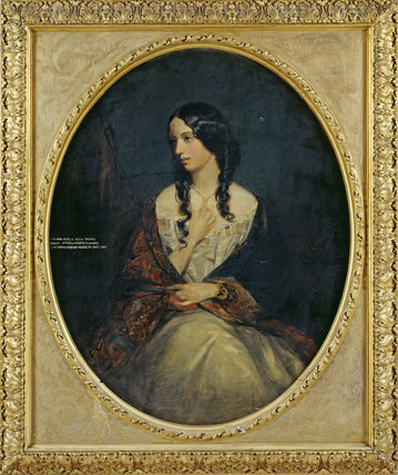 Portrait Of Lady Arabella Fermor By Grant At Rufford Old
