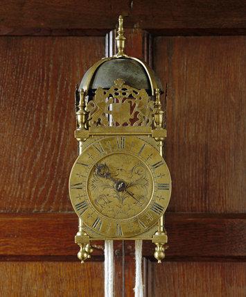 The Brass Lantern Clock C 1665 70 By Thomas Dyde London