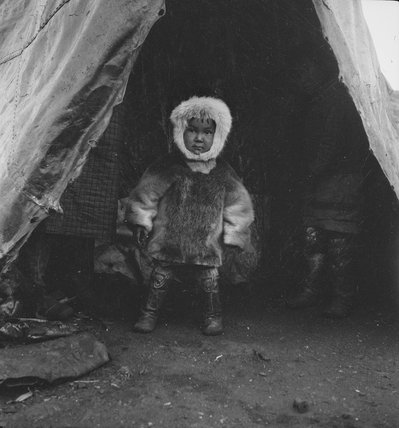 Inuit child