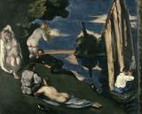 Cezanne / Pastorale / 1870