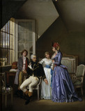 Josephine visits Beauharnais / Viger