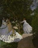 Claude Monet / Women in a garden / 1867