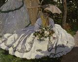 C.Monet / Women in garden / 1867 / DETAIL