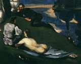 P.Cezanne / Pastoral / DETAIL