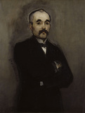 Georges Clemenceau / Painting by Manet