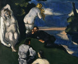 P.Cezanne, / Pastoral / DETAIL