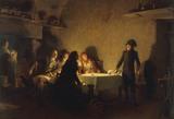 Napoleon / Souper de Beaucaire / Paint.