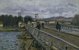 Sisley / Footbridge in Argenteuil / 1872