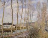 Sisley / Le canal du Loing / 1892