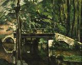 Cezanne / Bridge in Maincy / 1879