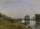 Sisley / L'ile Saint-Denis / 1872