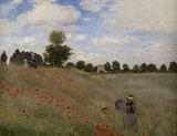 Monet / Les Coquelicots (Poppies) / 1873