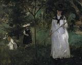 B.Morisot / Chasing butterflies / 1874 / DETAIL