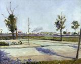 P.Signac, Road to Gennevilliers / 1883