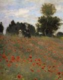 C.Monet / Poppy field at Argenteuil / DETAIL