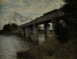 Claude Monet/Railway Bridge at Argent.