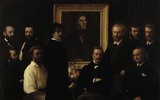 H.Fantin-Latour, Hommage a Delacroix