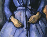 P.Cezanne / Woman with coffee pot / DETAIL