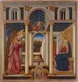 Annunciation to Mary / Neri di Bicci