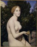 Venus on Paphos / Ingres / 1852/53