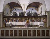 D.Ghirlandaio / Last Supper / aft.1480