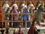 Ghirlandaio / Poliziano w.Medici-Sons / DETAIL